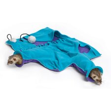 Ferret Nation Accessories Busy Body Blankie in Teal and Purple