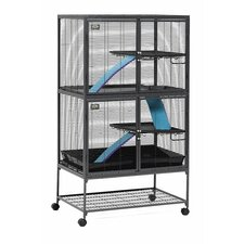 <strong>Midwest Homes For Pets</strong> Critter Nation Small Animal Double Unit Cage