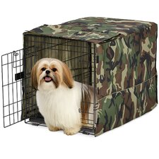 <strong>Midwest Homes For Pets</strong> Quiet Time Camo Crate Cover
