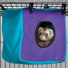 <strong>Midwest Homes For Pets</strong> Ferret Nation Accessories Cozy Cube in Teal and Purple