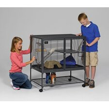 <strong>Midwest Homes For Pets</strong> Critter Nation Small Animal Single Unit Cage