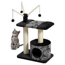 Feline Nuvo Carnival Cat Furniture in Black