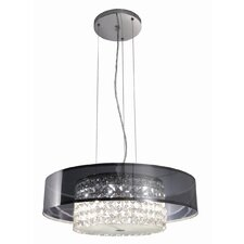 Glam 6 Light Drum Pendant