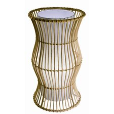 "Vibe 16.75"" H Table Lamp with Drum Shade"