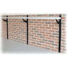 Adjustable Height Wall Mount Physical Therapy and Rehabilitation Bar