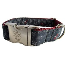 Fire Flies Dog Collar