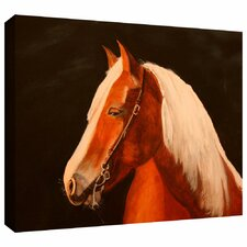 'Horse Painted' by Lindsey Janich Gallery Wrapped on Canvas