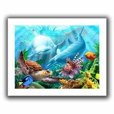 'Seavilian' by Jerry Lofaro Canvas Poster