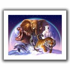 'Wild World' by Jerry Lofaro Canvas Poster