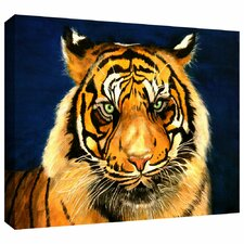 'Tiger by Lins' by Lindsey Janich Gallery Wrapped on Canvas