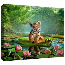 'Tiger Lily' by Jerry Lofaro Gallery-Wrapped on Canvas