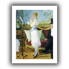 'Nana' by Edouard Manet Canvas Poster