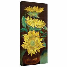 'Sunflowers' by Michael Creese Gallery-Wrapped on Canvas
