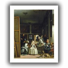 'Las Meninas or the Family of Philip IV' by Diego Velazquez Unwrapped on Canvas