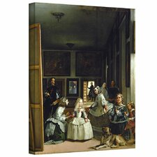 'Las Meninas or the Family of Philip IV' by Diego Velazquez Gallery-Wrapped on Canvas
