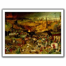 'The Triumph of Death' by Pieter Bruegel Unwrapped on Canvas