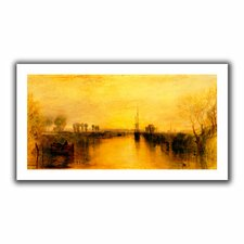 'Chichester Canal' by William Turner Unwrapped on Canvas