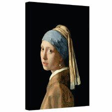 'Girl with a Pearl Earring' by Johannes Vermeer Gallery-Wrapped on Canvas