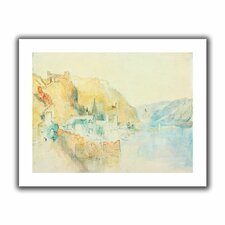 'On The Rhine' by William Turner Unwrapped on Canvas