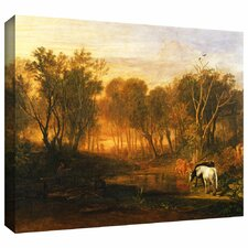 'The Forest of Bere' by William Turner Gallery-Wrapped on Canvas