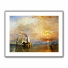 'The Fighting Temeraire' by William Turner Unwrapped on Canvas