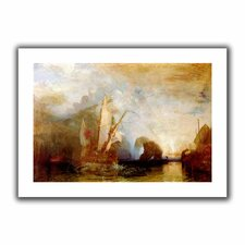 'Ulysses Deriding Polyphemus' by William Turner Unwrapped on Canvas