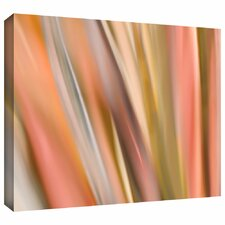 'Abstract Barcode' by Cora Niele Gallery Wrapped on Canvas