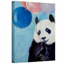 'Panda Party' by Michael Creese Gallery-Wrapped on Canvas