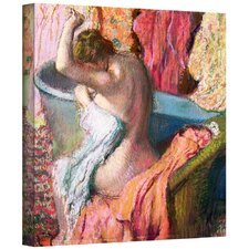 'Seated Bather' by Edgar Degas Gallery-Wrapped on Canvas