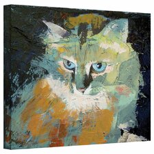 'Himalayan Cat' by Michael Creese Gallery-Wrapped on Canvas