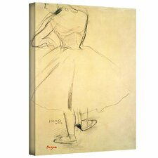 'Ballet Dancer from Behind' by Edgar Degas Gallery-Wrapped on Canvas