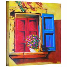 'Venentian Window' by Susi Franco Gallery Wrapped on Canvas