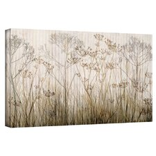 'Wildflowers Ivory' by Cora Niele Gallery Wrapped on Canvas