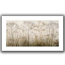 'Wildflowers Ivory' by Cora Niele Unwrapped on Canvas