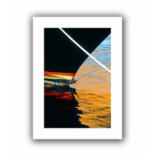 'Docked' by Linda Parker Canvas Poster