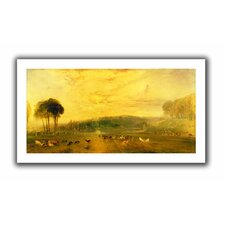 'Sunset, Fighting Bucks' by William Turner Unwrapped on Canvas