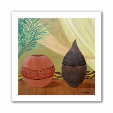 'African Style' by Herb Dickinson Painting Print on Canvas