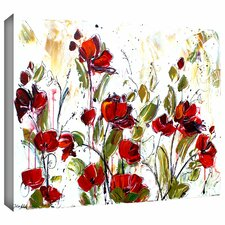 'Floral' by Jolina Anthony Painting Print Gallery-Wrapped on Canvas