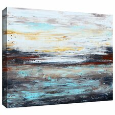 'Abstract Cold' by Jolina Anthony Painting Print Gallery-Wrapped on Canvas