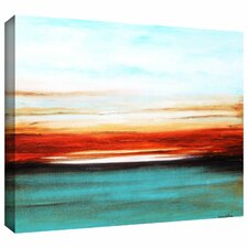 'Sunset' by Jolina Anthony Painting Print Gallery-Wrapped on Canvas