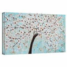 'Blossoms' by Jolina Anthony Painting Print Gallery-Wrapped on Canvas
