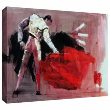 'Matador' by Mark Adlington Painting Print Gallery-Wrapped on Canvas