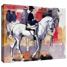 'Side-Saddle at the Feria de Sevilla' by Mark Adlington Gallery-Wrapped Canvas Art