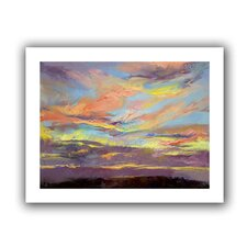 """Atahualpa Sunset"" by Michael Creese Canvas Poster"
