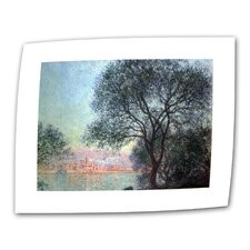 """Antibbes"" by Claude Monet Painting Print on Canvas"