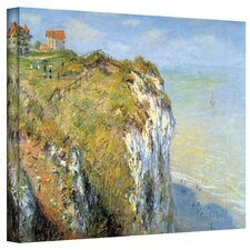 ''Cliffs'' by Claude Monet Original Canvas Painting Print