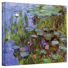 ''Sea Roses'' by Claude Monet Painting Print on Canvas