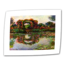 "<strong>Art Wall</strong> Claude Monet ""Foliage Trestle"" Canvas Wall Art"