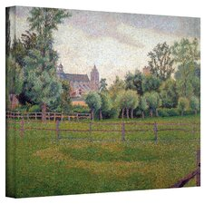 ''Church at Gisors'' by Camille Pissarro Painting Print on Canvas