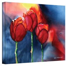 ''Tulips'' by Dan McDonnell Painting Print on Canvas